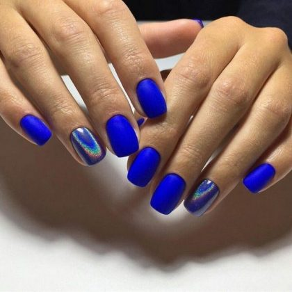 Brilliant Manicure with a Rub in 2020: Effective Nail Design Ideas