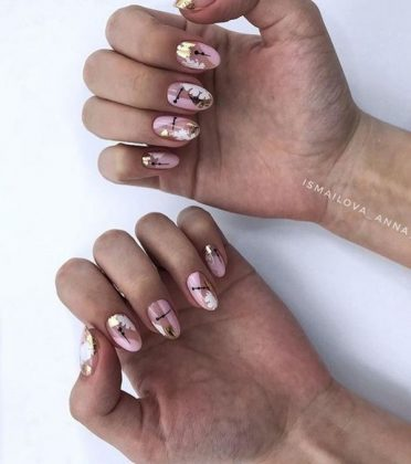 Top Nail Design Ideas of Negative Space 2021 - Creative Photo News