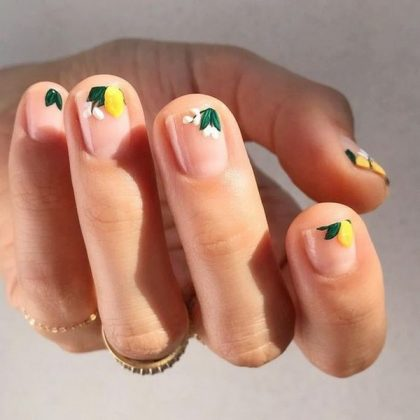Top Nail Design Ideas of Negative Space 2020 - Creative Photo News