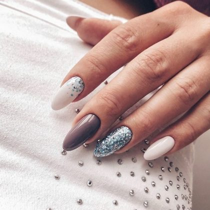Winter Manicure 2019-2020 - The Most Beautiful Photo Ideas, Trends&Examples