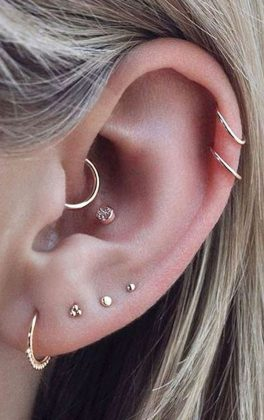 The Most Beautiful Piercing 2020-2021 - TOP 7 Ideas for Trendy Piercing for Women
